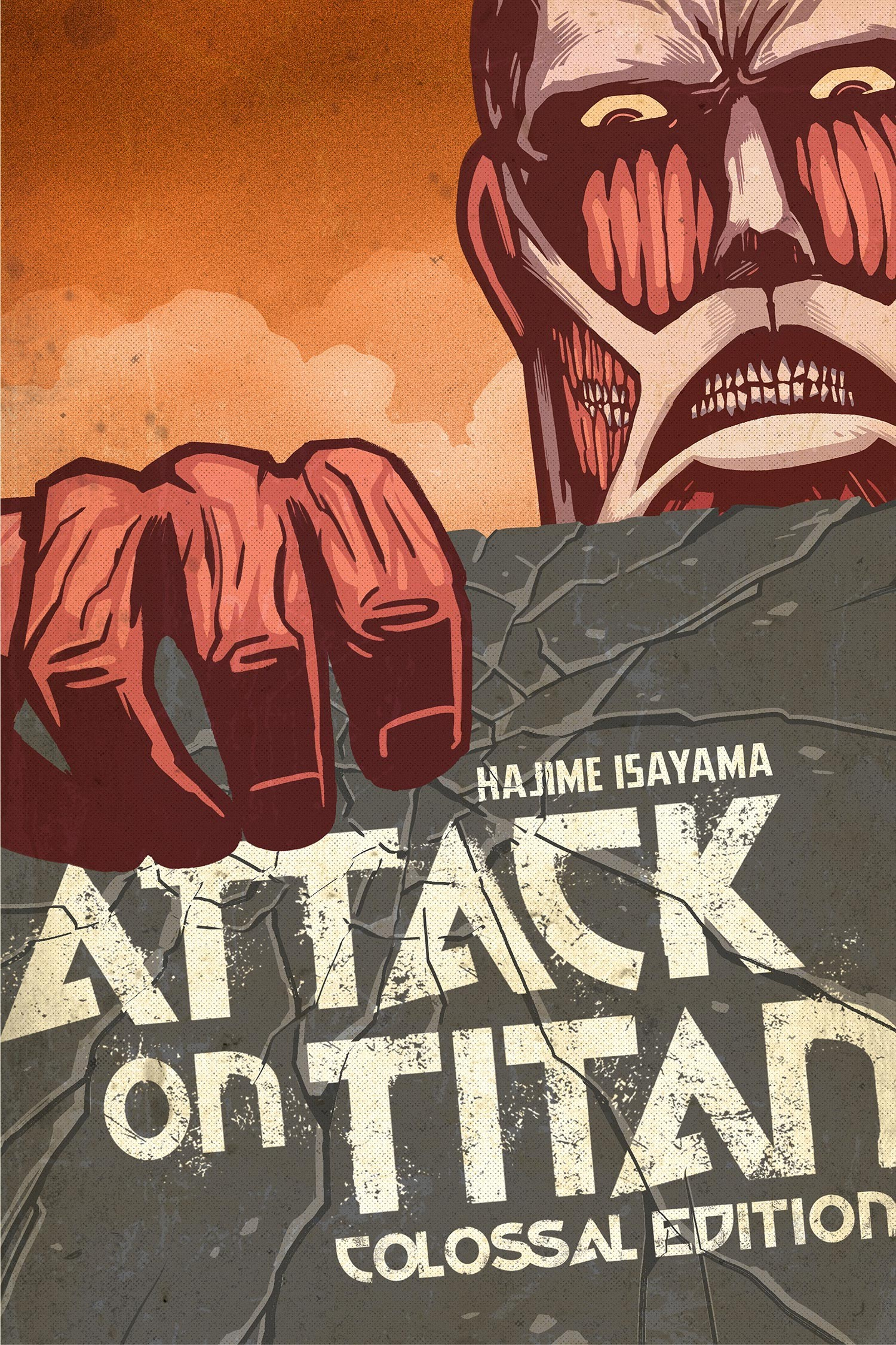 Attack on Titan: Colossal Edition, Volume 1 by Hajime Isayama