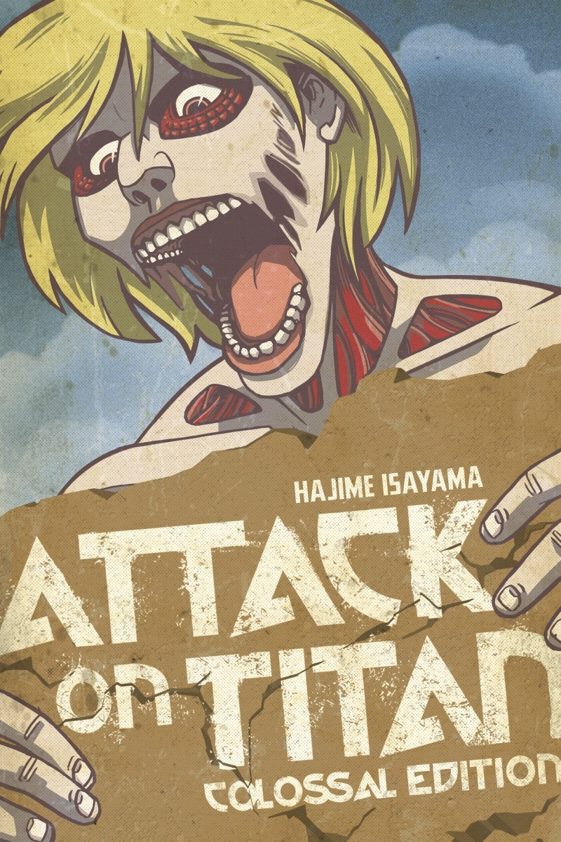 Attack on Titan: Colossal Edition, Volume 2 by Hajime Isayama