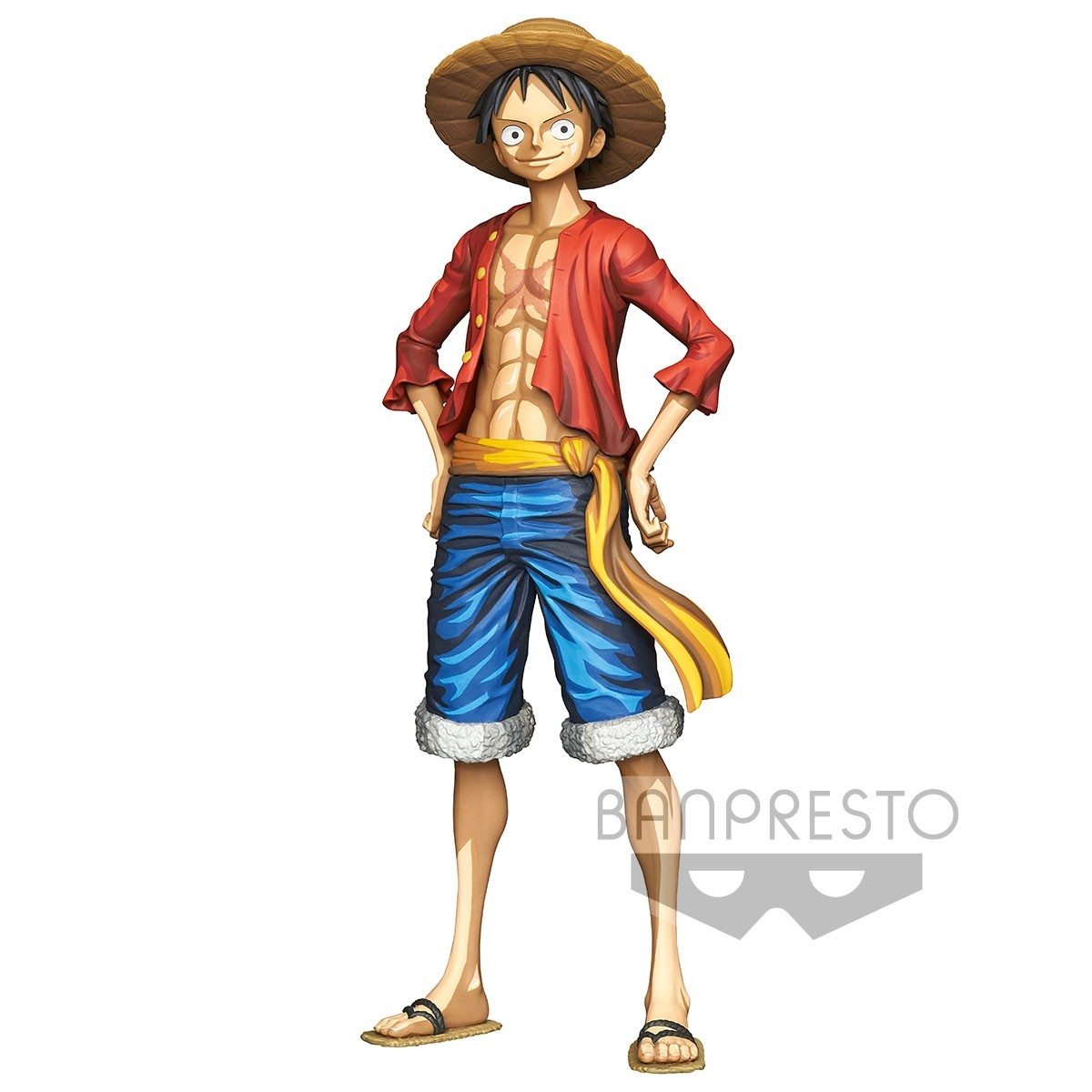 One Piece Figure Super Master Stars Piece Manga Dimensions Monkey D. Luffy