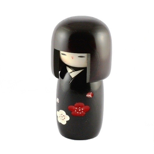 Kokeshi Doll - Flowers of Happiness (XS)