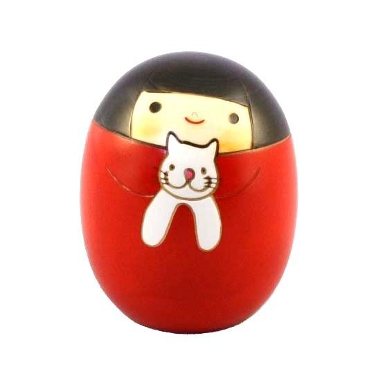 Kokeshi Doll - Neko no Sari / Cat Sally