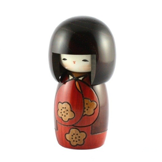 Kokeshi Doll - Koujitsu Red
