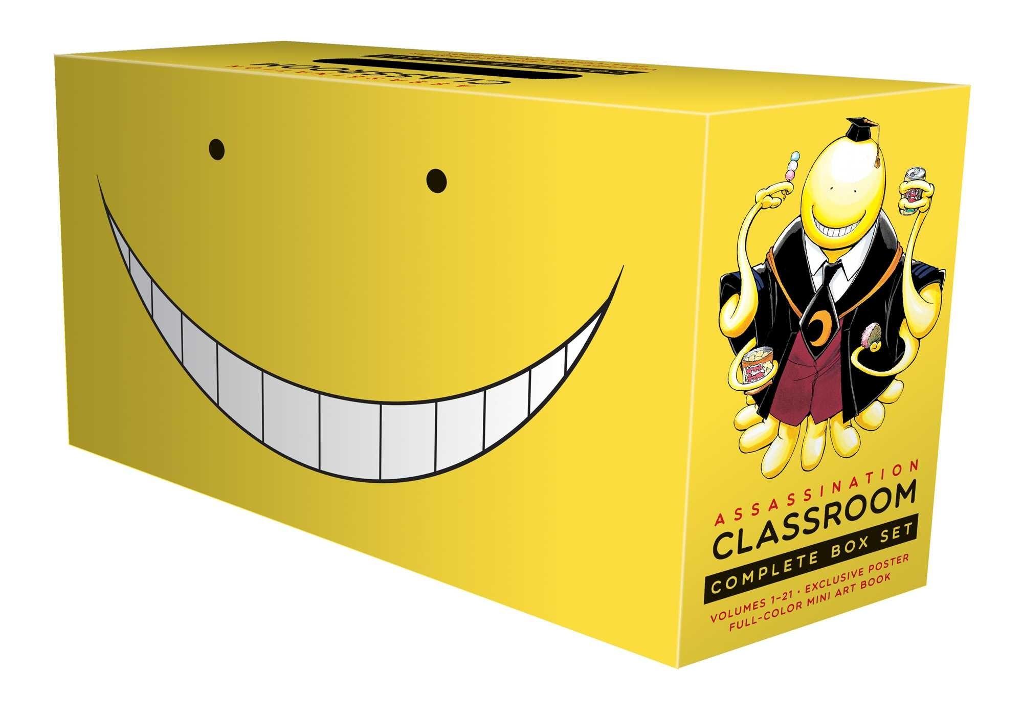 Assassination Classroom Box Set (Vol. 1-21)