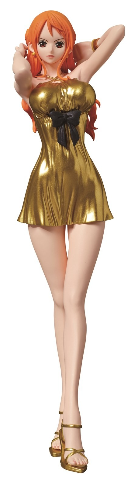 """One Piece Figure Film Gold """"Glitter & Glamours"""" Style Figure - Nami Gold version - 25 cm"""