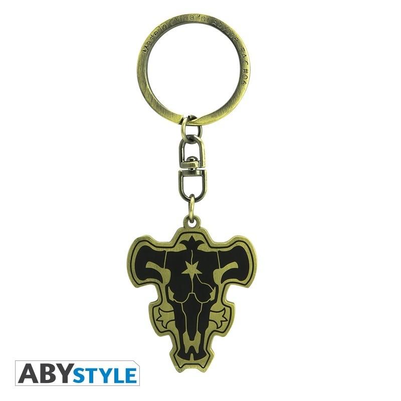 "BLACK CLOVER - Keychain ""Black Bull Emblem"""