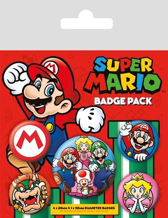 Badge Pack - Super Mario