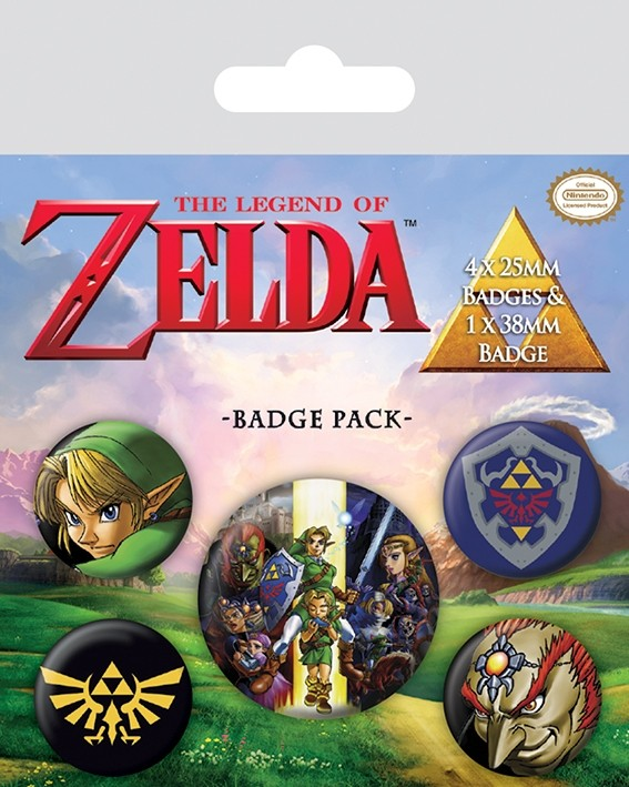 Badge Pack - The Legend Of Zelda