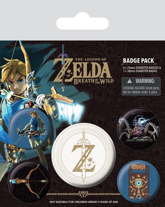 Badge Pack - The Legend Of Zelda: Breath Of The Wild Emblem
