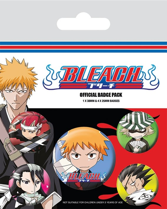 Badge Pack - Bleach - Chibi Characters