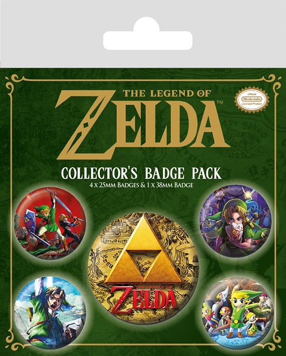 Badge Pack - The Legend Of Zelda Collector's