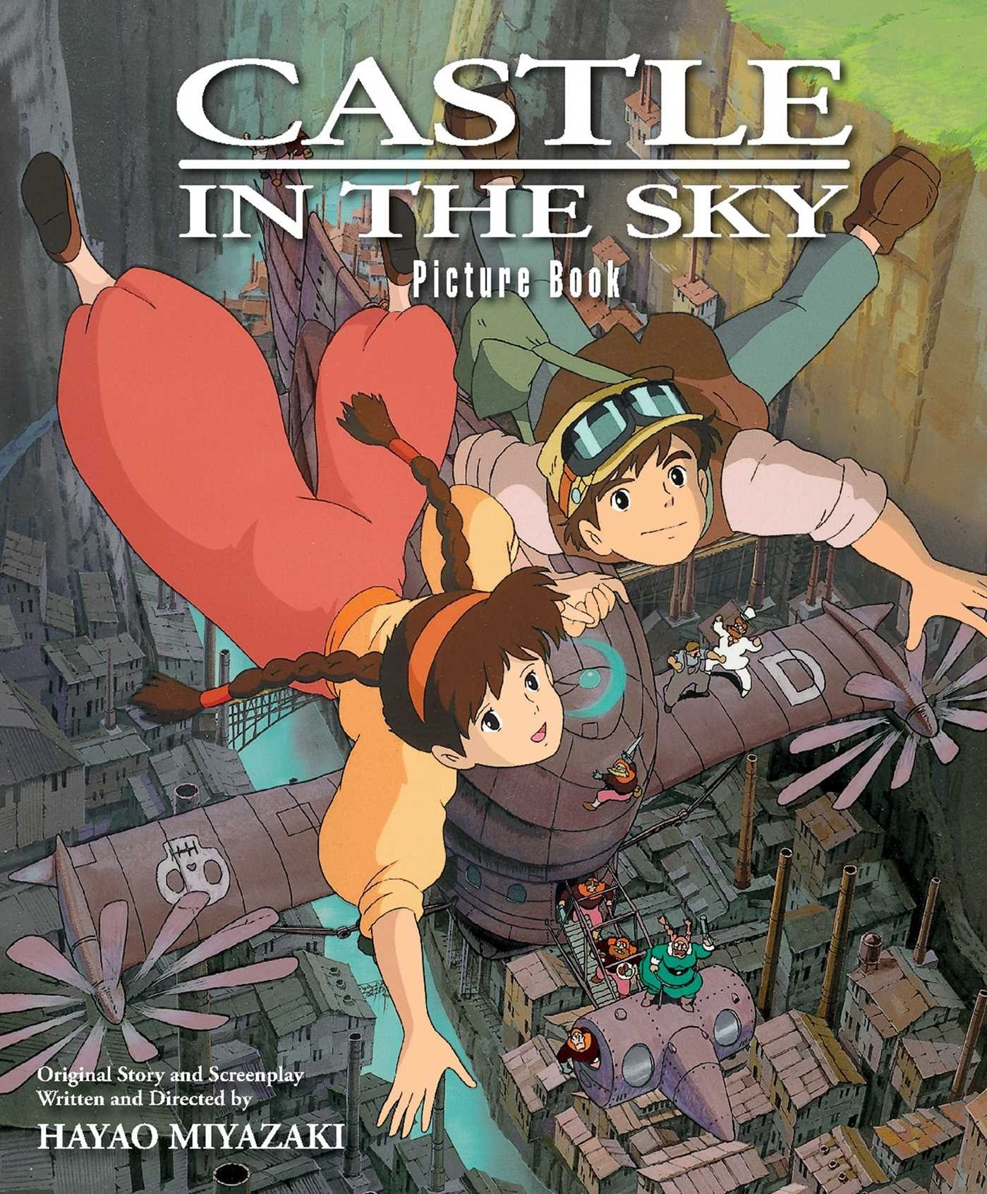 Castle in the Sky Picture Book by Hayao Miyazaki