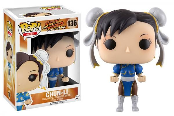POP! Vinyl: Street Fighter: Chun-Li - 10 cm