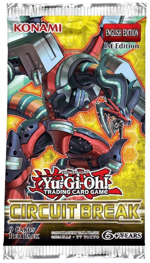 Yu-Gi-Oh! TCG - Circuit Break - 9 Cards Booster Pack