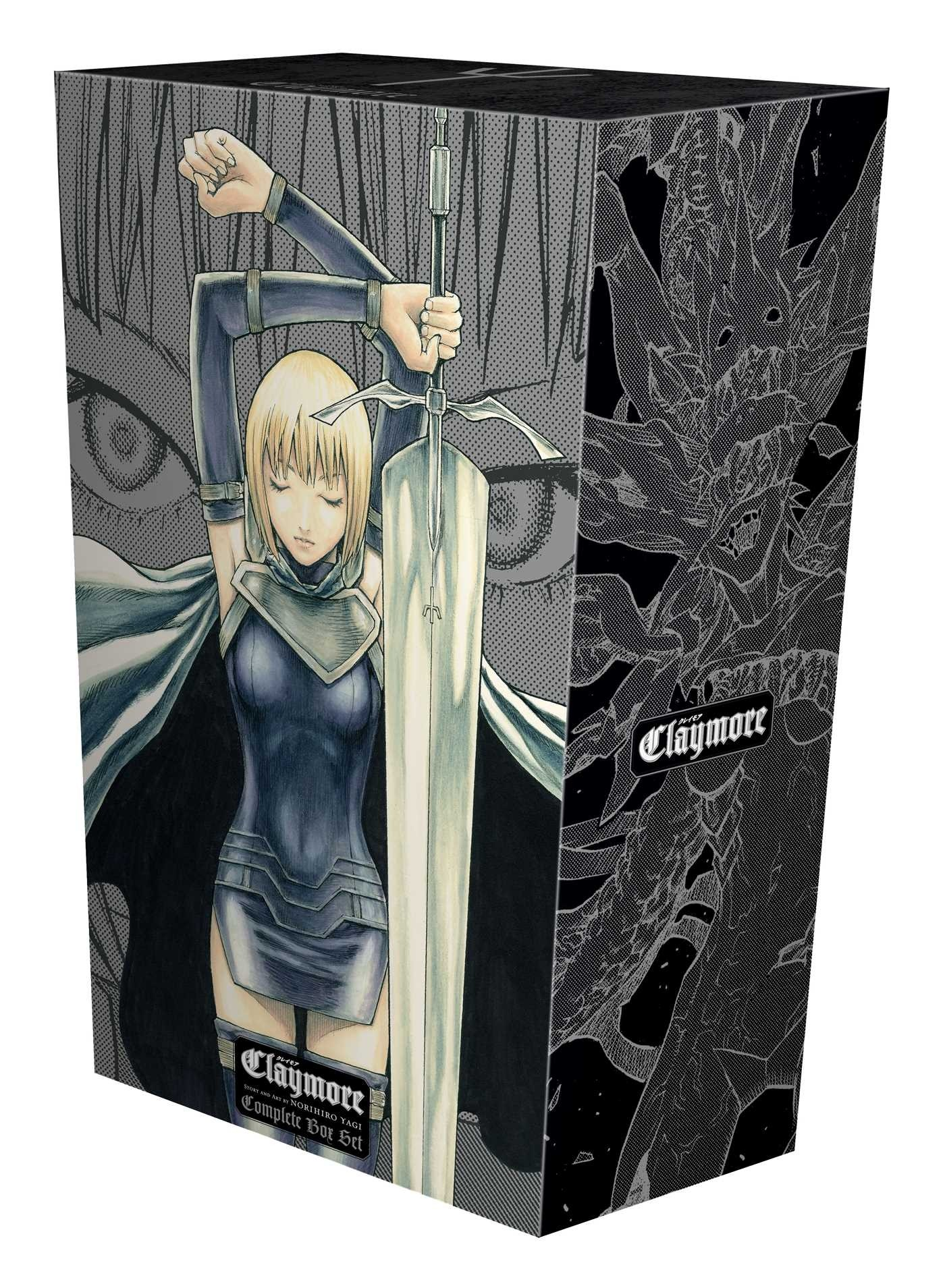 Claymore, Complete Box Set (Volume 1-27)