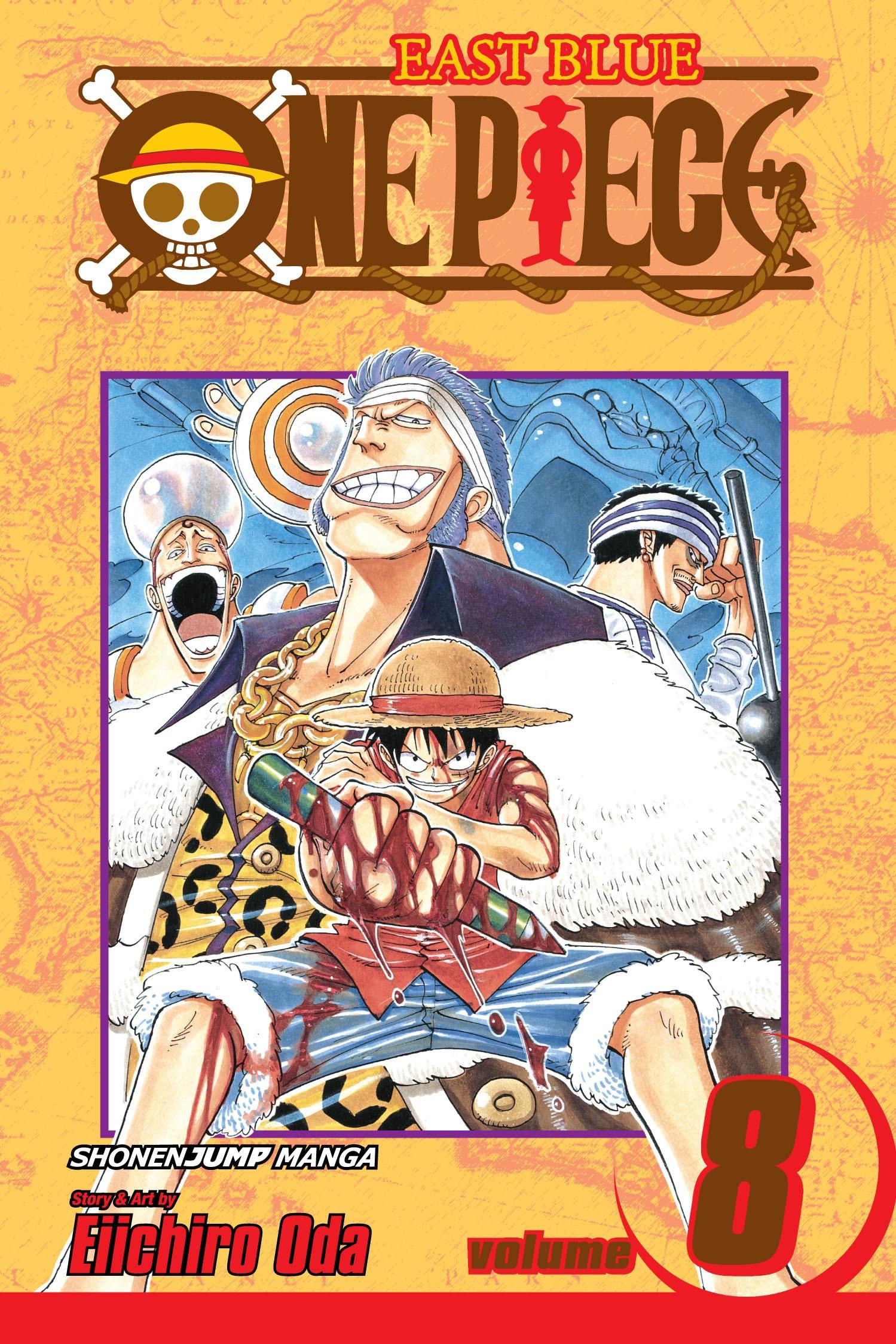 One Piece, Vol. 08