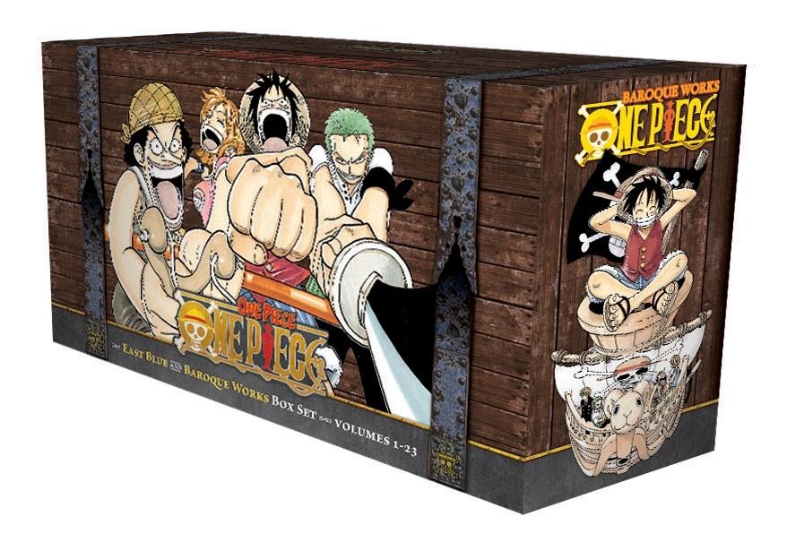 Viz Media One Piece Box Set 1: East Blue and Baroque Works (Vol. 1-23)