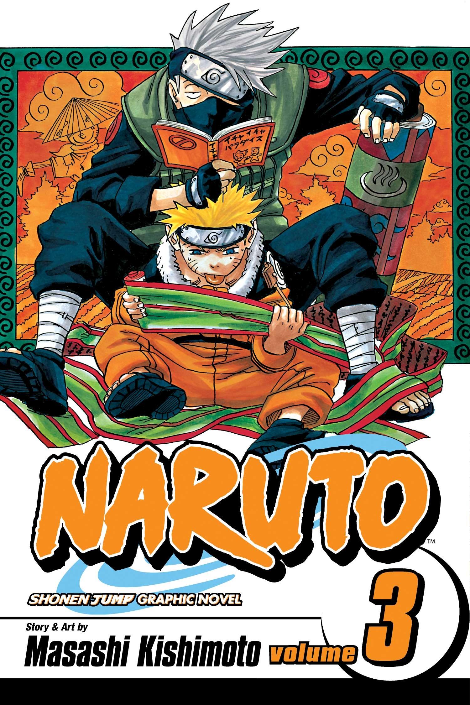 Naruto, Vol. 03