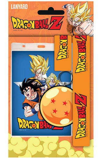 Dragon Ball Z - Goku Lanyard with Dragon Ball Rubber Keyring
