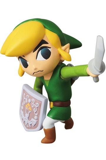 Nintendo - UDF Series 1 Mini Figure - Link (The Legend of Zelda: The Wind Waker) 6 cm