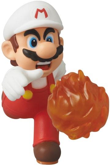 Nintendo - UDF Series 2 Mini Figure - Fire Mario (New Super Mario Bros. U) 6 cm