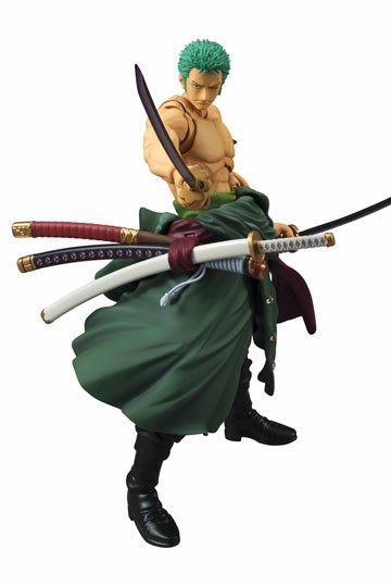 One Piece - Variable Action Heroes Action Figure - Roronoa Zoro 18 cm