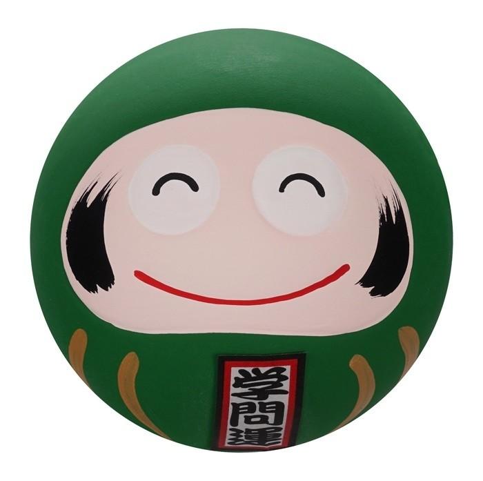 Daruma Happy Face - Green - 6cm