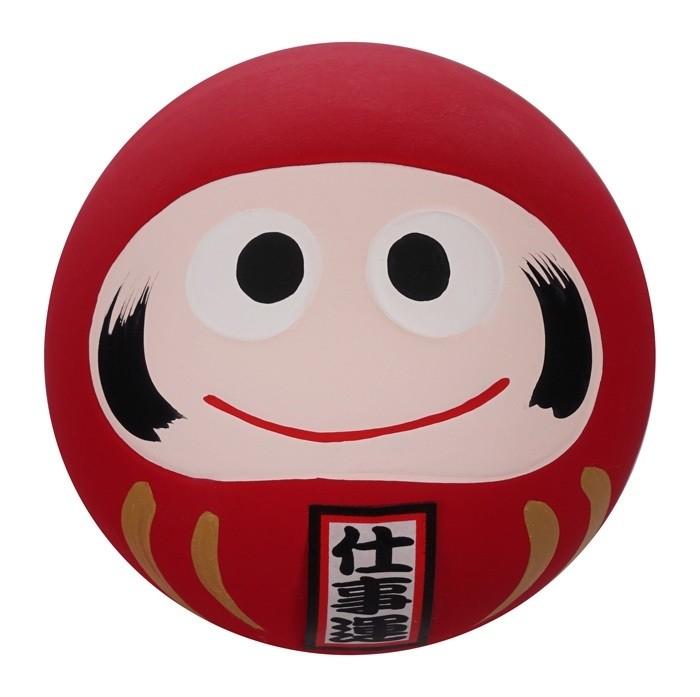 Daruma Happy Face - Red - 6cm