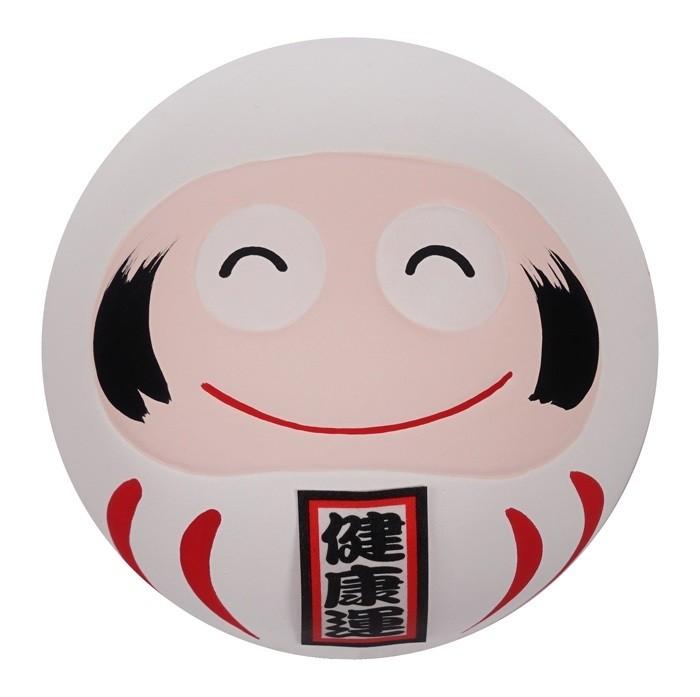 Daruma Happy Face - White - 6cm