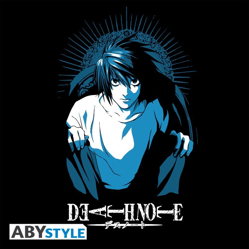"""T-SHIRT DEATH NOTE - """"L"""" Extra Large"""