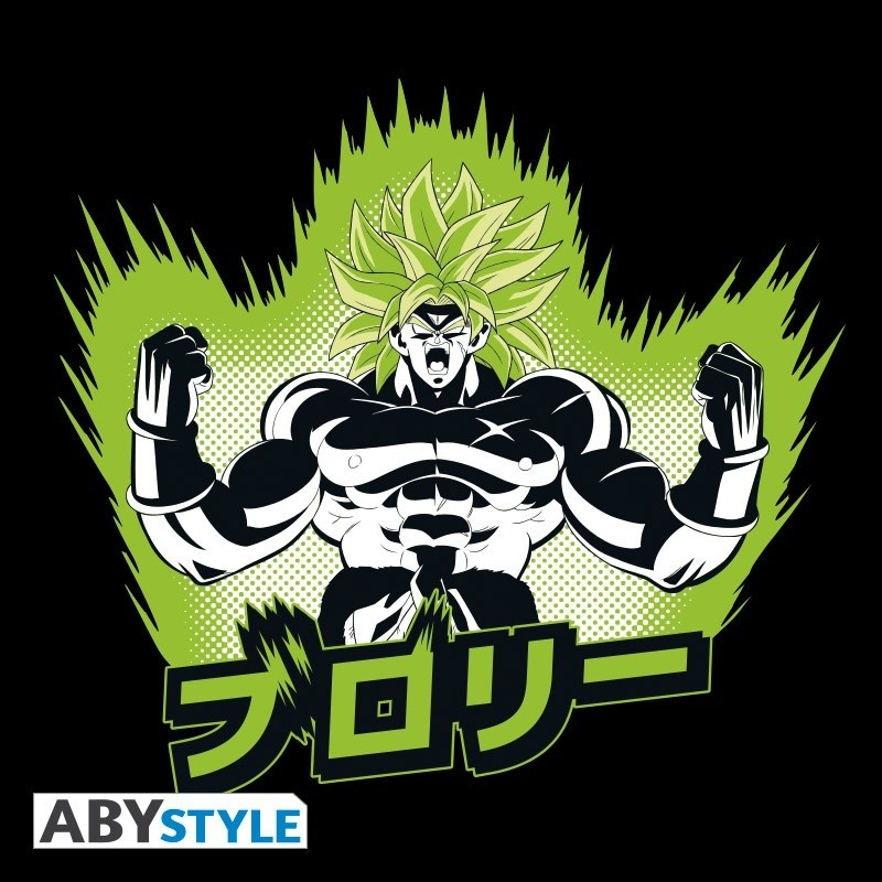 "T-SHIRT DRAGON BALL BROLY - ""DBS/ Broly"" Large"
