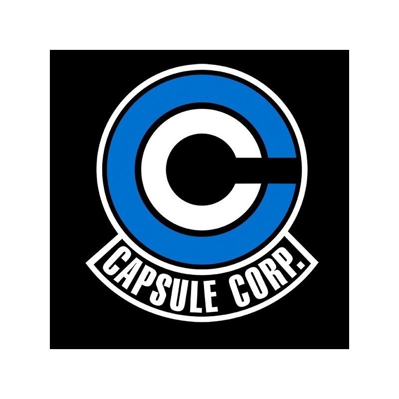 "T-SHIRT DRAGON BALL ""Capsule Corp Logo"" Large"