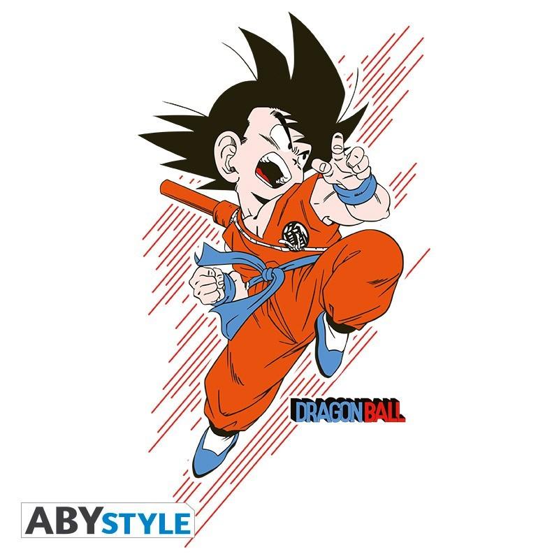 "T-SHIRT DRAGON BALL ""DB/ Goku young"" Medium"