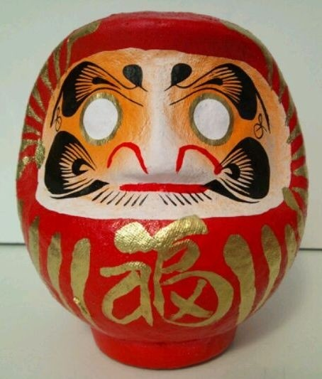 DARUMA - SIZE 1 - RED - SAFETY AND SUCCESS IN EVERY WAY