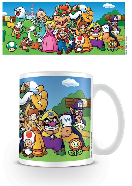 Nintendo - Mug 315 ml / 11 oz - Super Mario (Characters)