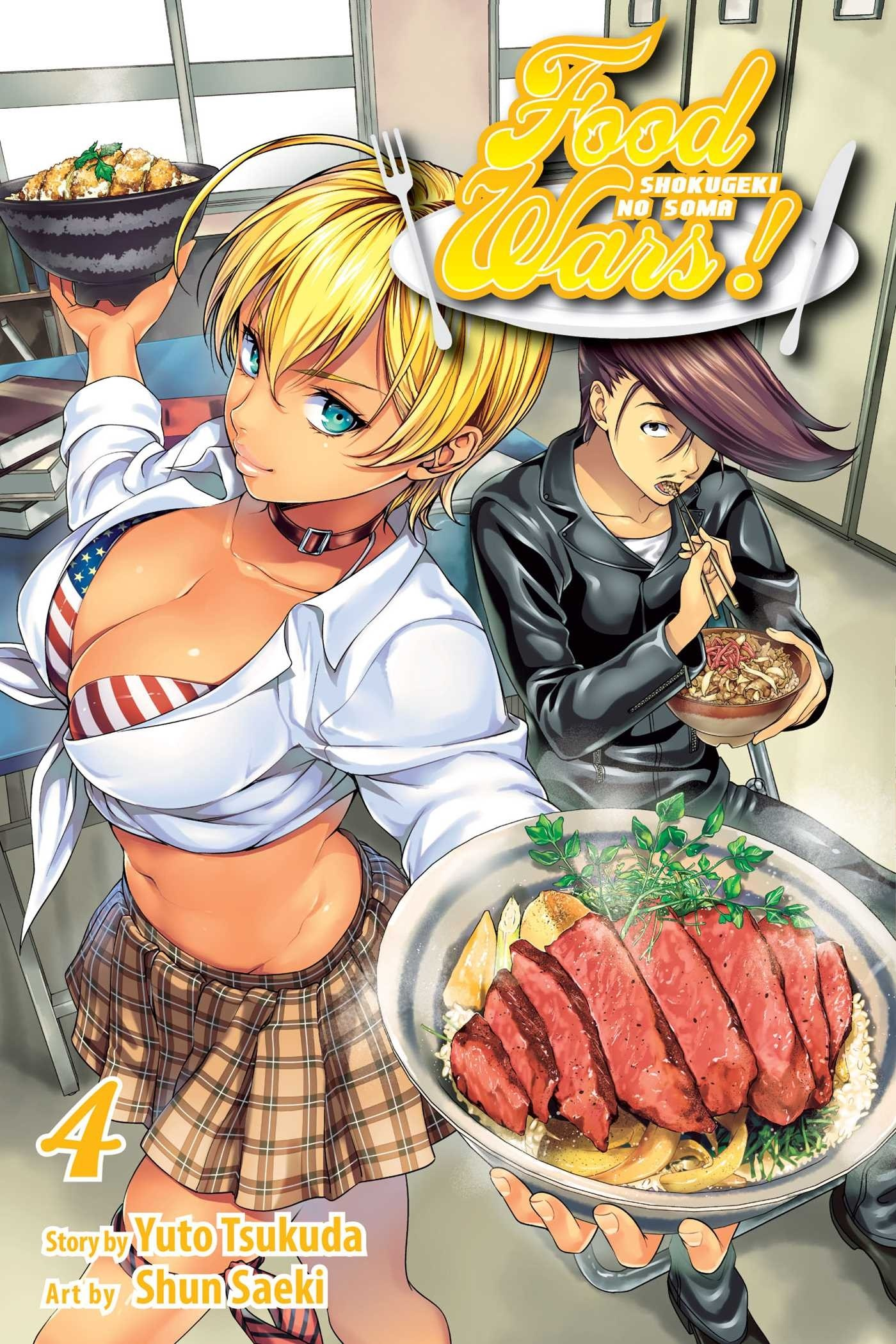 Food Wars!, Vol. 04