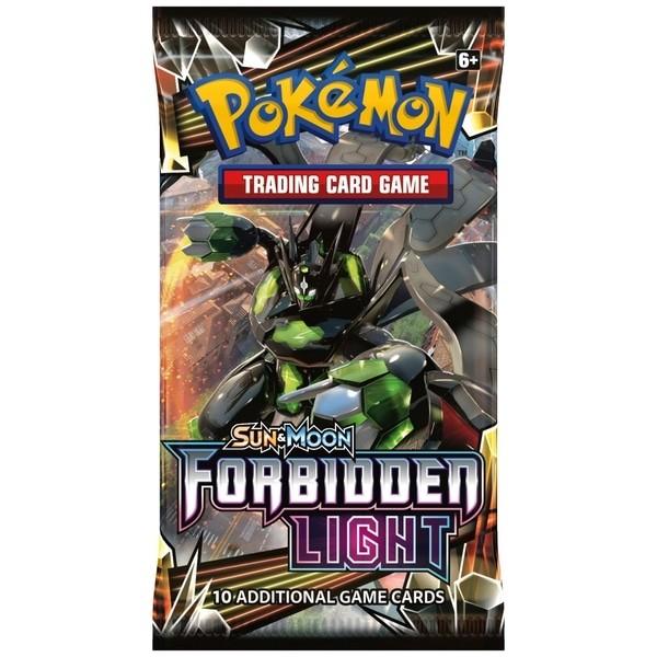 Pokemon TCG Sun & Moon #6 Forbidden Light Booster Pack