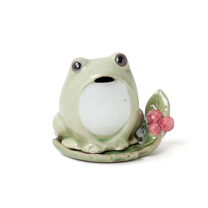 Shoyeido - Incense Burner - Frog