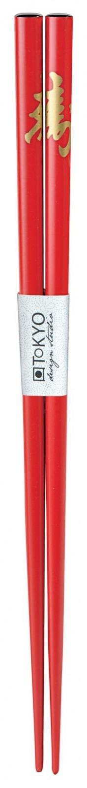 Chopstick Kotobuki Red - 23 cm
