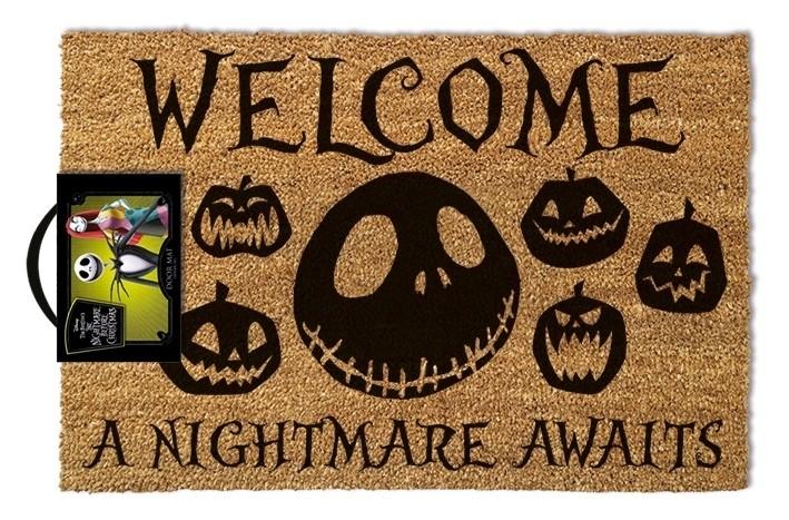The Nightmare Before Christmas - Doormat - A Nightmare Awaits
