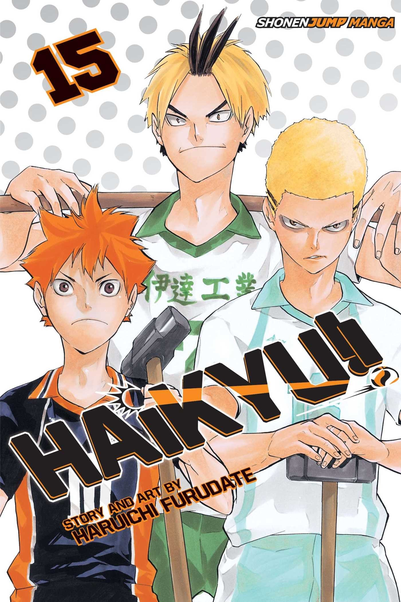 Haikyu!! Vol. 15