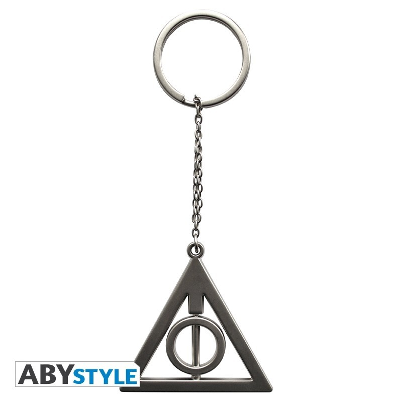 "Harry Potter Keychain 3D ""Deathly Hallows"""