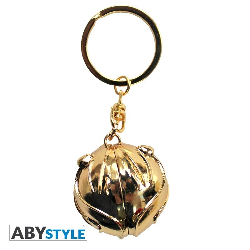 "Harry Potter Keychain 3D ""Golden Snitch"""