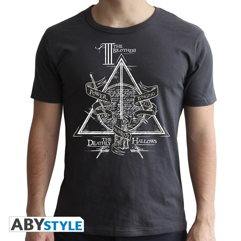 T-SHIRT Harry Potter Deathly Hallows Large