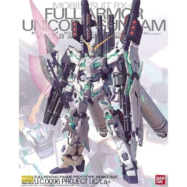 MG RX-0 FULL ARMOR UNICORN GUNDAM Ver. Ka 1/100 - GUNPLA