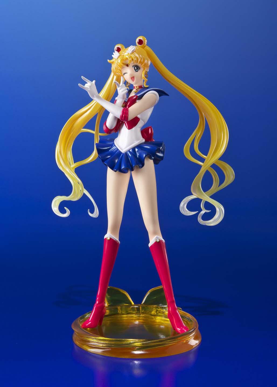 Sailor Moon Crystal FiguartsZERO PVC Statue 1/10 Sailor Moon 19 cm