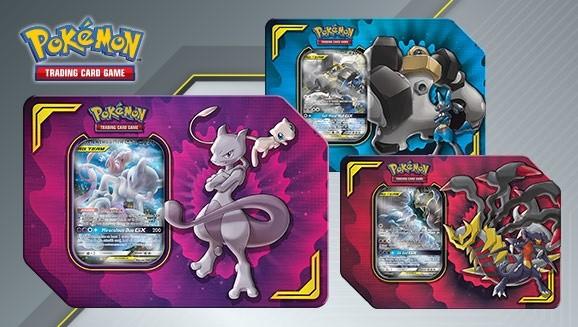 Pokemon TCG: Power Partnership TAG Team Tin Mewtwo & Mew/Lucario or Melmetal/Garchomp&Giratina