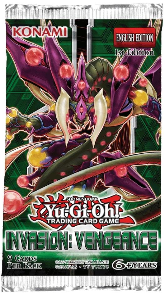 Yu-Gi-Oh! TCG Invasion: Vengeance Booster Pack