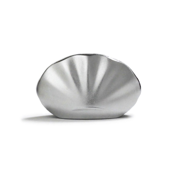 Shoyeido - Incense Holder - Kolip Shell - Mat Silver