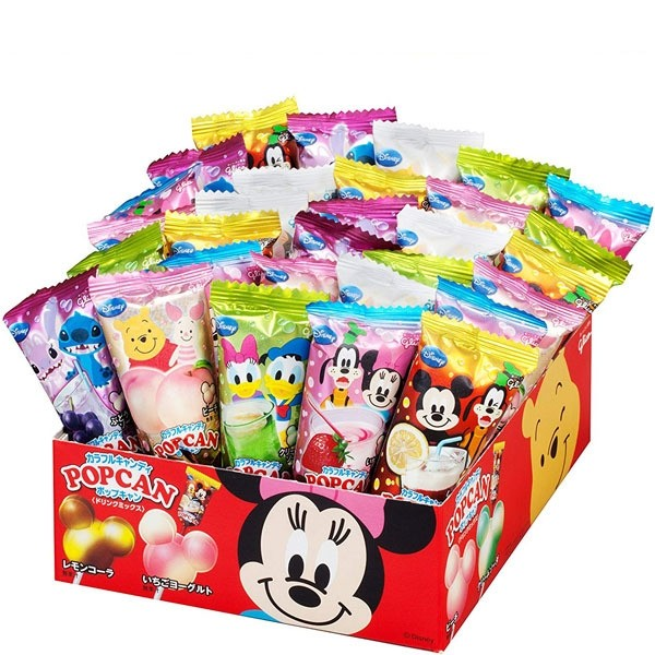 Pop Can Assorted Drink Mix Flavoured Hard Lolly (1 Lolly-pop)