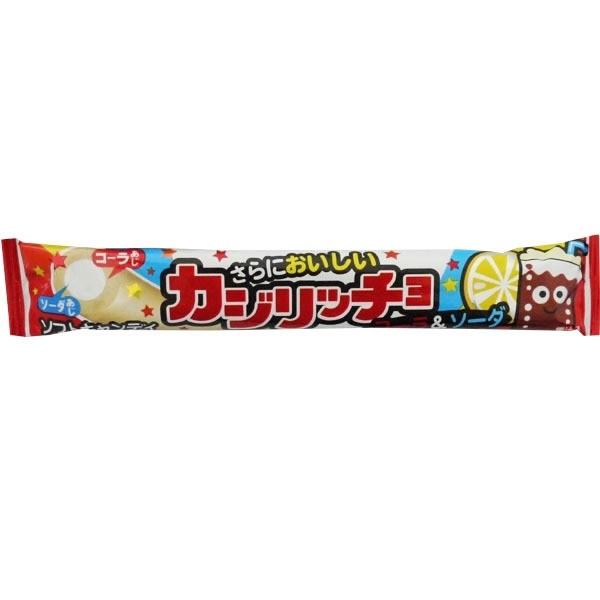 Kajiriccho Cola & Soda Soft Candy Rope